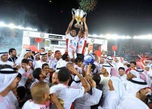 نادي الجزيرة يحصل على حصّة الأسد من جوائز دوري الخليج العربي