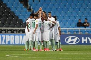 الأخضر السعودي يفشل في أولى اختباراته في كأس العالم