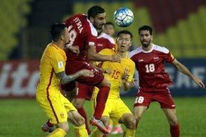 ماهي حظوظ المنتخب السوري بالتأهل بعد التعادل مع الصين؟