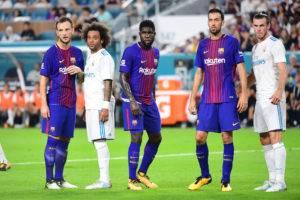 ٥ عوامل ترجح كفة برشلونة على ريال مدريد