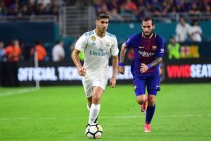 ماقصة برشلونة وماركو أسينسيو؟