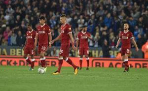 مشجعوا ليفربول يستعملون كلمة واحدة في وصف الهزيمة