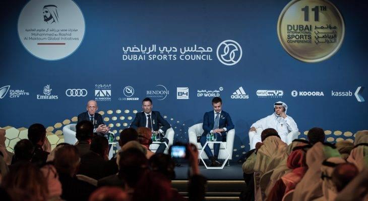 الكشف عن نجوم العالم المشاركين في مؤتمر دبي الرياضي 12