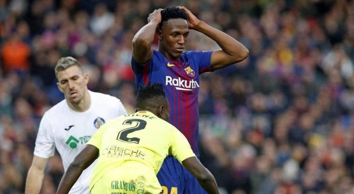 ماذا كانت نهاية مباراة برشلونة وخيتافي في الدوري الإسباني