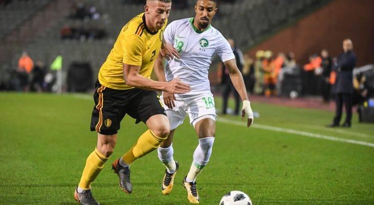 السعودية تتلقى أربع أهداف من بلجيكا في مباراتهم الودية