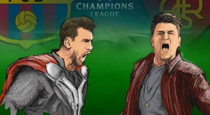 الكامبنو يستضيف روما،، هل تعلم متى آخر مرة خسر البارشا أمام فريق إيطالي في الكامبنو ؟