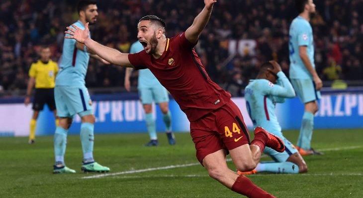 لأول مرة منذ عام 1984 روما يصل إلى ربع النهائي بعد فوزه على برشلونة !