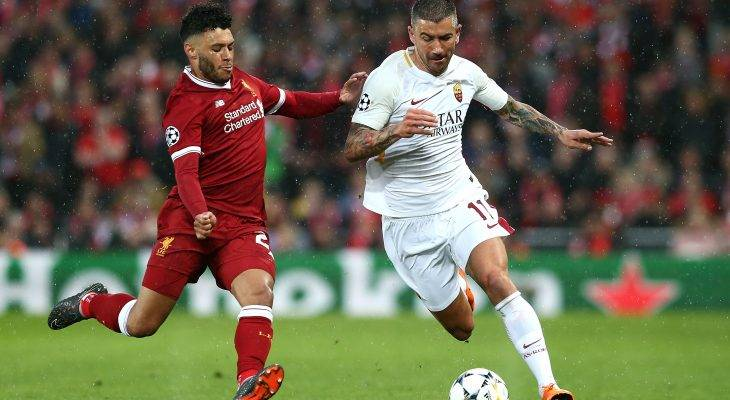 ليفربول ضد روما في إياب نصف نهائي دوري أبطال أوروبا