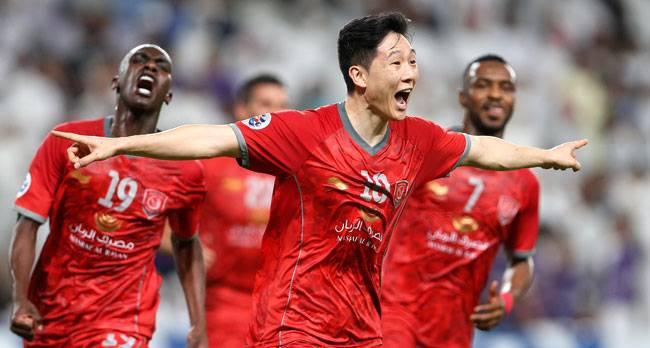 الدحيل وفوزه على العين في ذهاب ثمن نهائي دوري أبطال آسيا