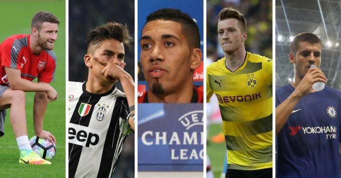 ماركو ريوس ، باولو ديبالبا و 9 لاعبين آخرون من الممكن أن لا يشاركوا في كأس العالم 2018
