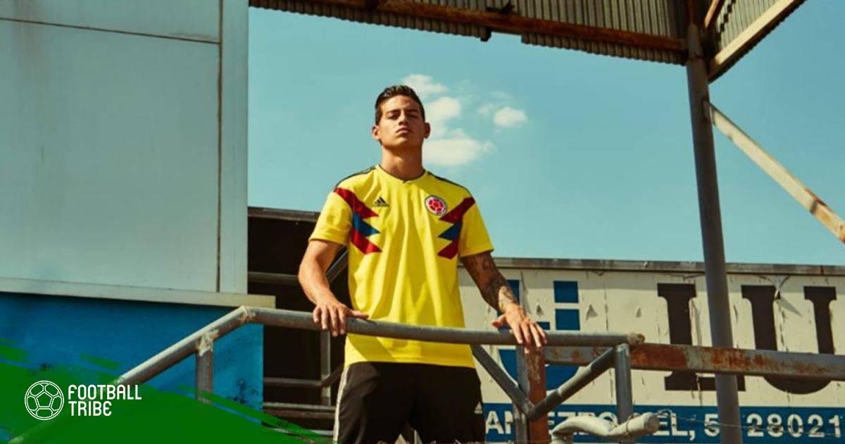 كولومبيا متفائلة بمشاركة خاميس أمام إنجلترا