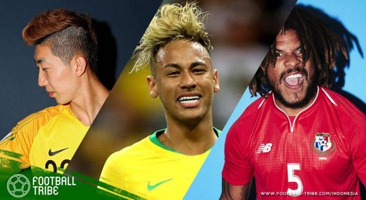 تصفيفات شعر فريدة من نوعها حتى الآن في كأس العالم 2018