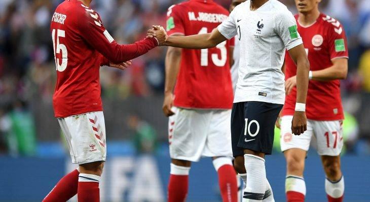 الملل يسيطر في مباراة فرنسا والدنمارك ويصعد المنتخبان إلى دور الـ 16