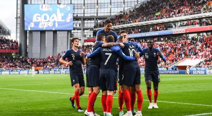 فوز صعب لفرنسا على بيرو