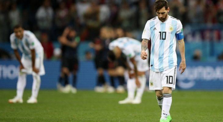 الأرجنتين على وشك توديع المونديال