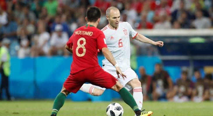 مباراة ساخنة تنتهي بتعادل مثير بين إسبانيا والبرتغال: