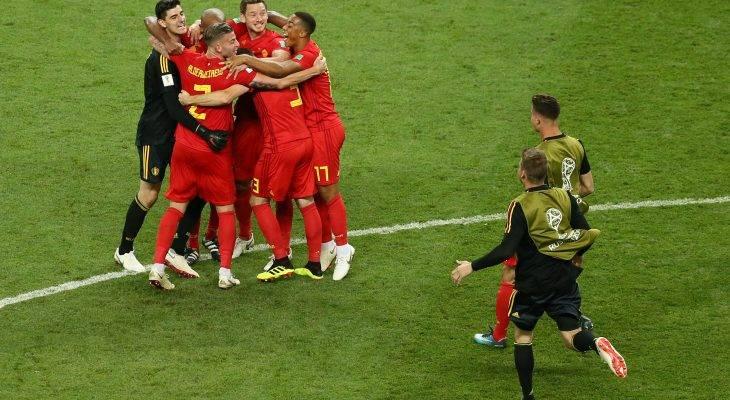 بلجيكا تتخطى البرازيل وتصل إلى المربع الذهبي