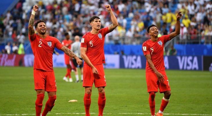 منتخب إنجلترا يبلغ نصف نهائي كأس العالم 2018