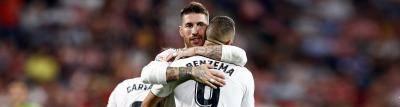 ريال مدريد يسحق جيرونا ويزاحم برشلونة على الصدارة