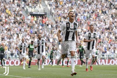 رونالدو يفتح باب أهدافه من جديد مع يوفنتوس