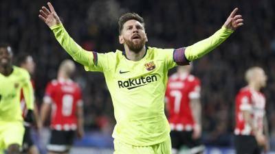 برشلونة يحافظ على صدارة المجموعة B