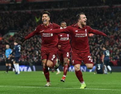 ليفربول يفاجئ مانشستر يونايتد وينتصر