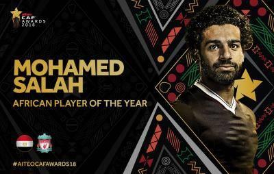 محمد صلاح أفضل لاعب في أفريقيا 2018