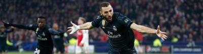 ريال مدريد يفوز  رغم هيمنة أياكس أمستردام