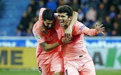 برشلونة يحجز اللقب الـ26 من الدوري الإسباني