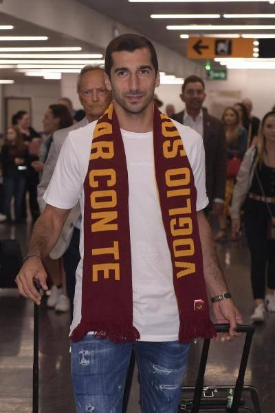مخيتاريان يصل إلى نادي روما