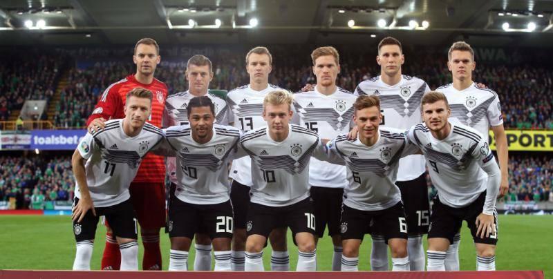 قائمة ألمانيا لمواجهة إستونيا في تصفيات أمم أوروبا يورو 2020