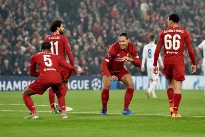 ليفربول في الصدارة وبرشلونة يعاني ونتائج دوري أبطال أوروبا