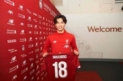 تاكومي مينامينو ينضم إلى صفوف ليفربول