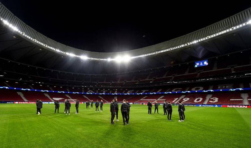 الدوري الإسباني بدون جماهير بسبب الكورونا