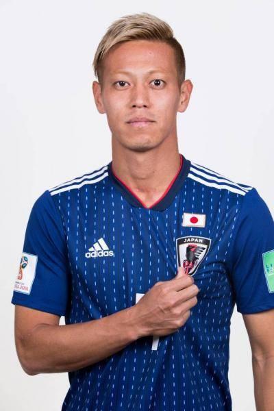 كيسوكي هوندا يدخل التاريخ كأول لاعب يسجل في خمس قارات