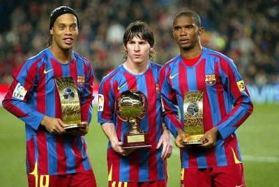 15 سنة على هدف ميسي الأول مع برشلونة ..