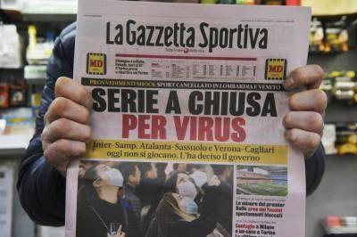 الدوري الإيطالي، لن يعود قبل 14 يونيو/حزيران