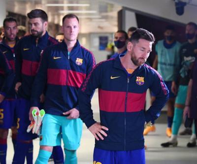 هل قرار ميسي بالرحيل عن برشلونة لا رجعة فيه؟