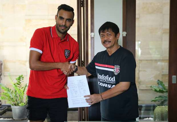 Bali United sign Argentine attacker Marcos Flores