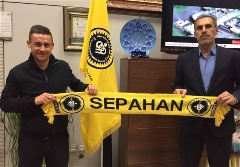 Server Djeparov joins Sepahan on loan from Esteghlal