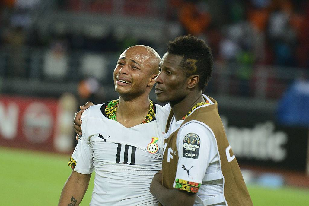"""Asamoah Gyan in trouble for """"unethical hair"""""""