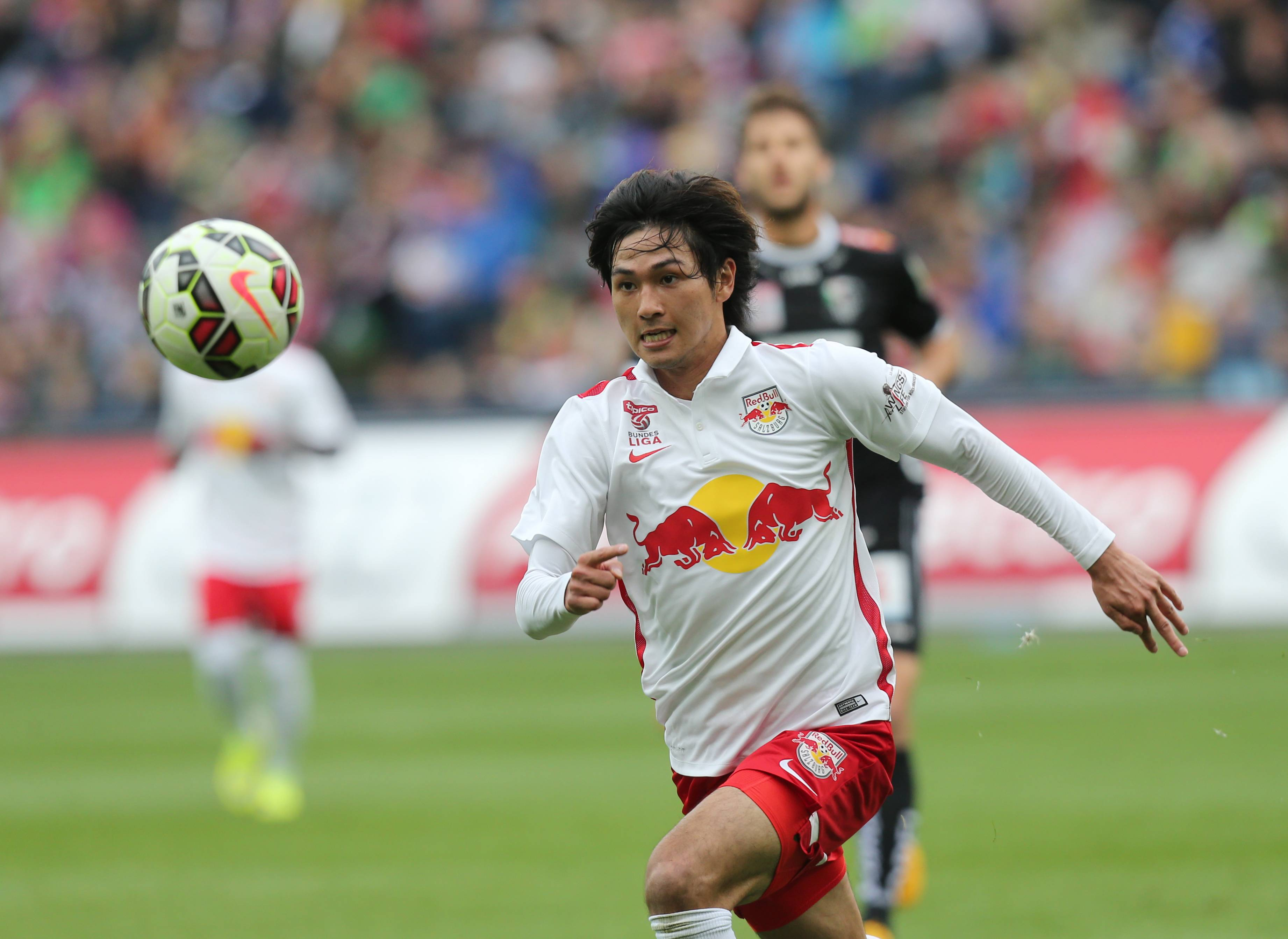 VIDEO: Takumi Minamino scores a hat-trick as Salzburg hammer Ried in Austrian League