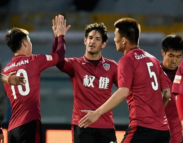 Alexandre Pato scores on Tianjin Quanjian debut