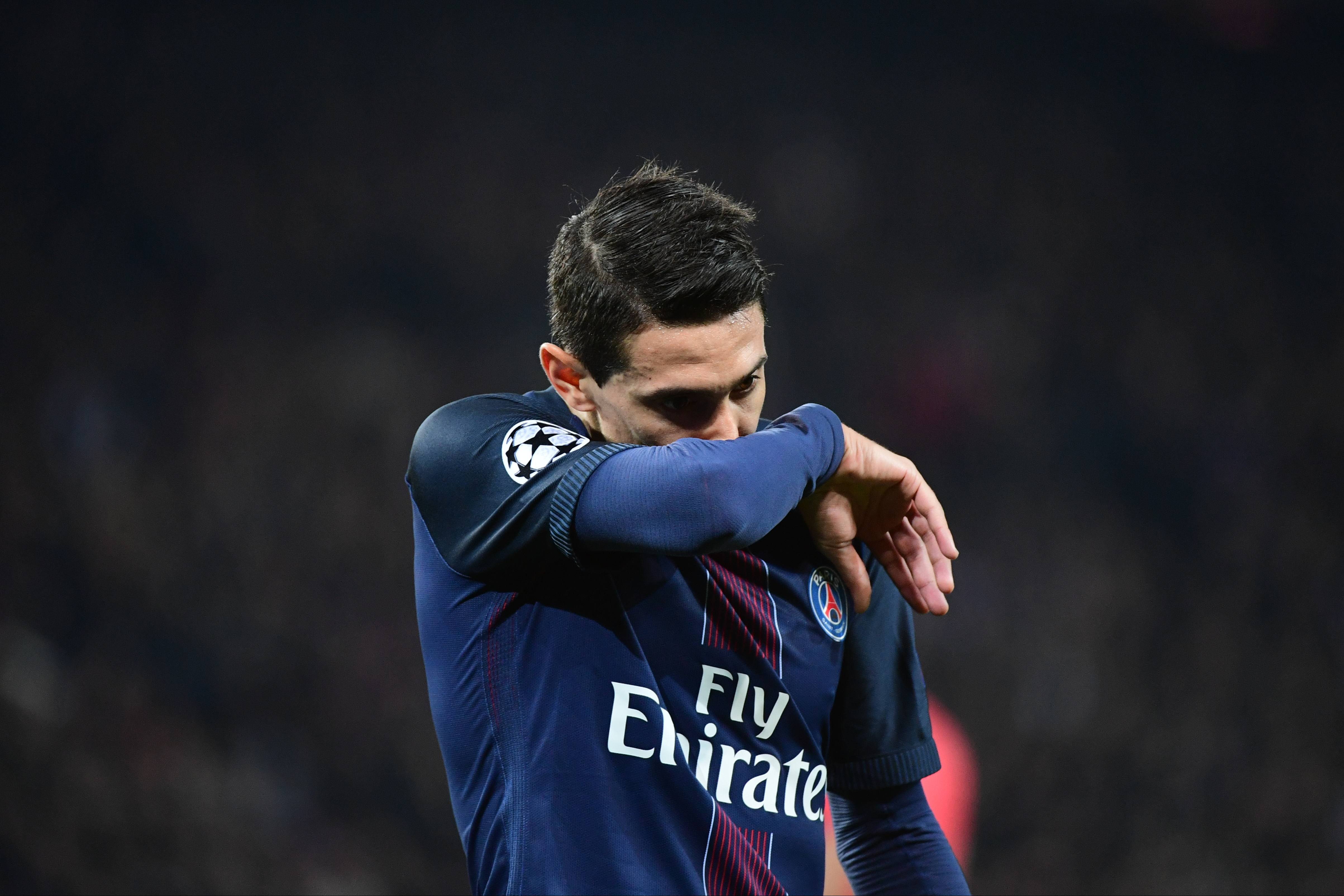 PSG tried to offload Angel Di Maria to China