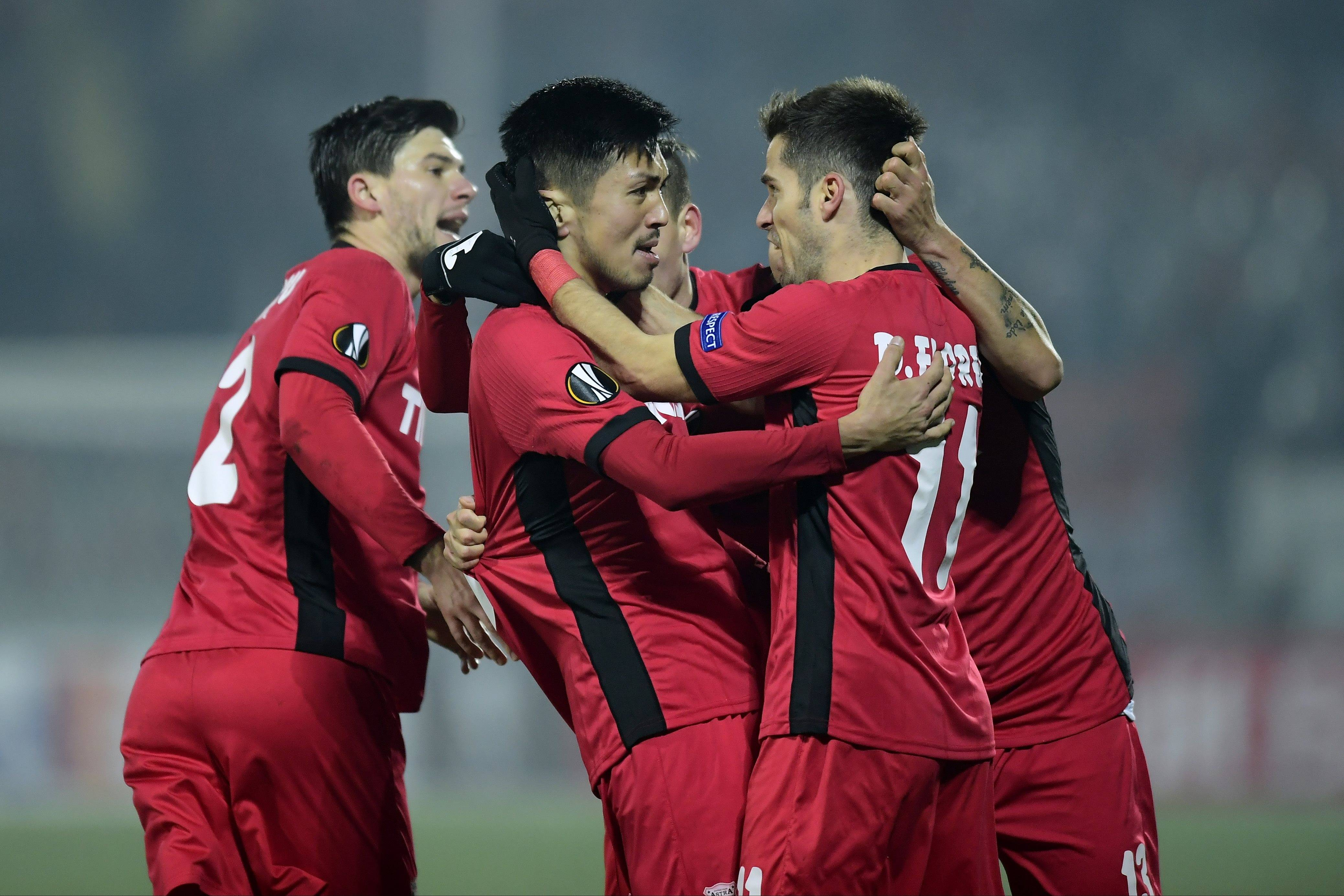 VIDEO: Takayuki Seto scores crucial goal for Astra in Europa League