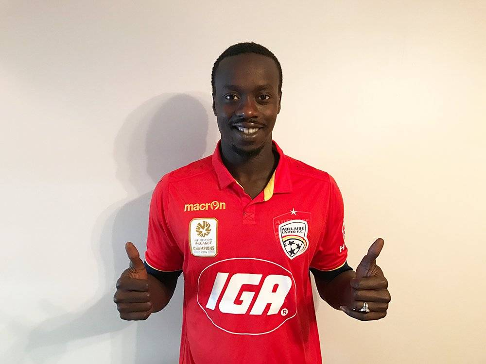 Baba Diawara joins Adelaide United on the advice of former teammate