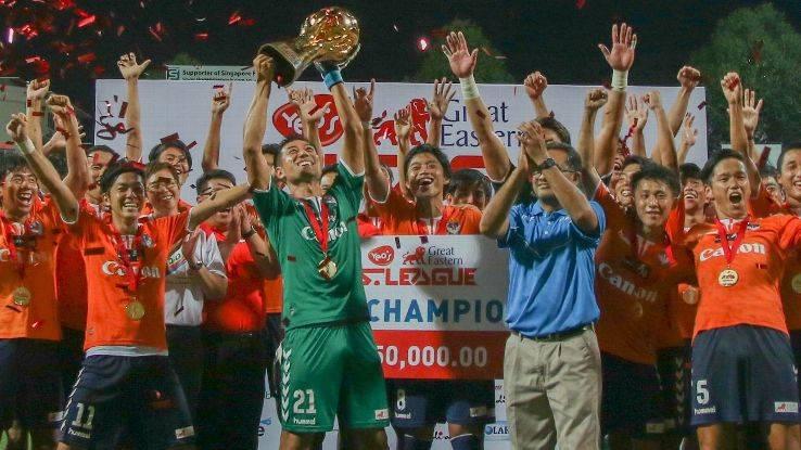 Albirex Niigata comeback sink Tampines Rovers in Singapore's Community Shield
