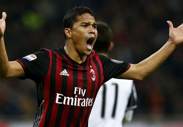 Carlos Bacca on Tianjin Quanjian's radar as Colombian striker wants out of Milan