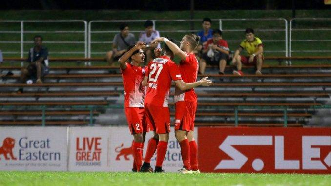 Home United defeat Phnom Penh Crown to qualify for AFC Cup