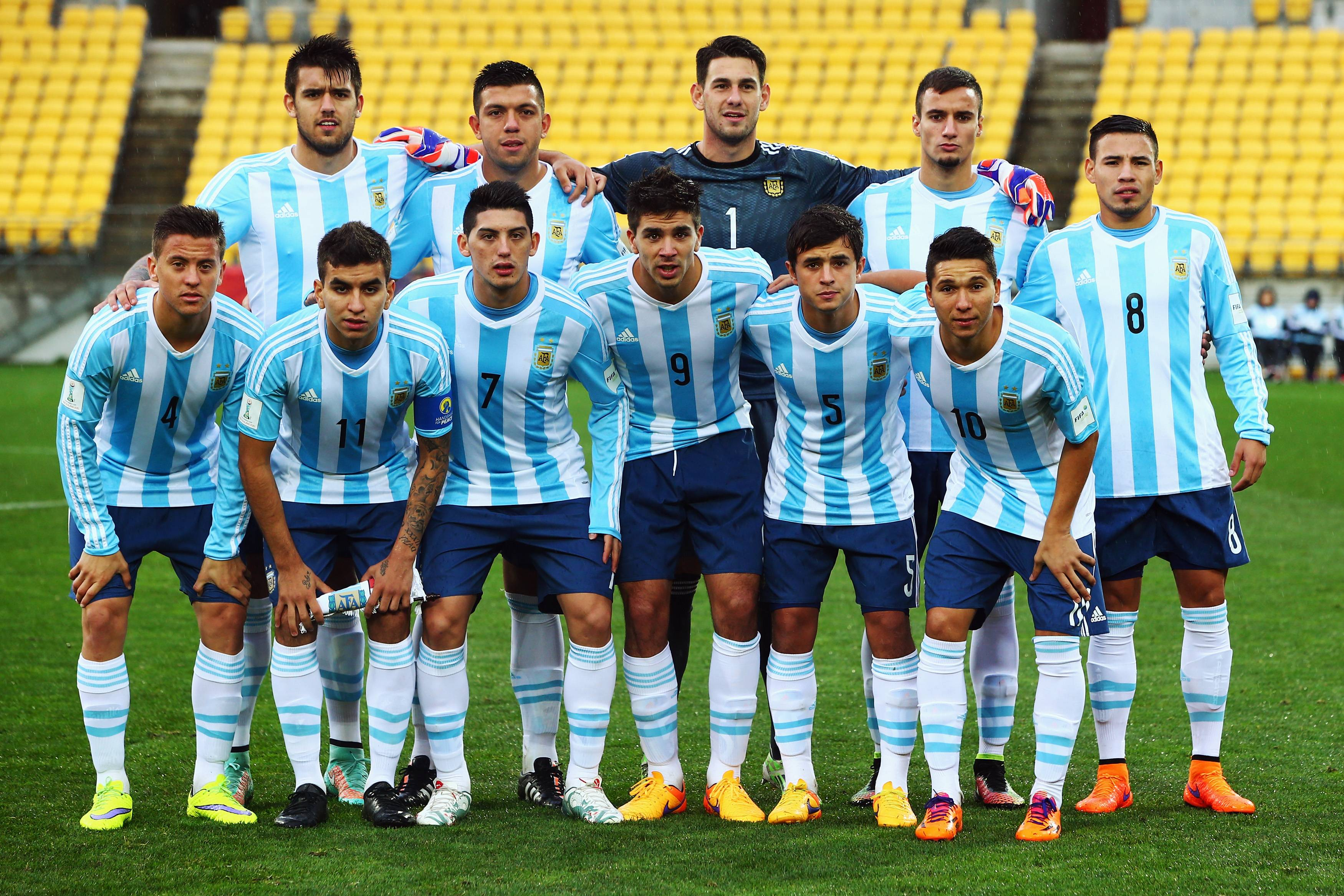 Argentina football team group photo